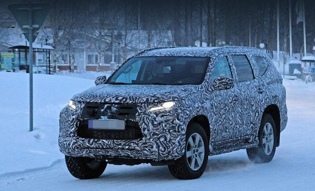 Очакваме Mitsubishi Pajero Sport с нов облик