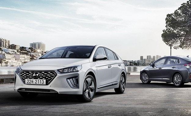 Hyundai обнови хибридите ioniq