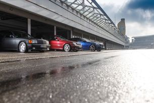 Mercedes 190 E 3.2 AMG, C 32 AMG T-модел и C 43 AMG