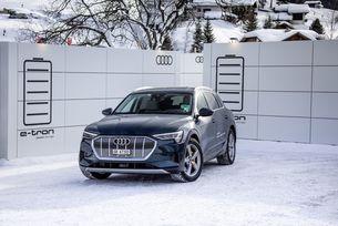 Audi e-tron Давос