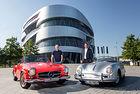 Mercedes поздравява десет години Porsche Museum