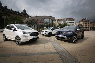 Dacia Duster, Ford Ecosport, Opel Mokka X