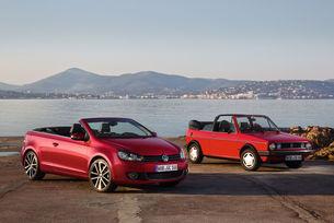VW празнува 40-годишнината на Golf Cabriolet
