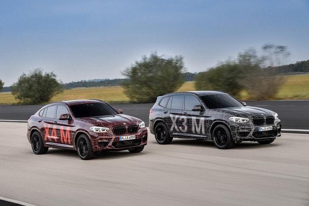 BMW показа спортните версии на X3 и X4