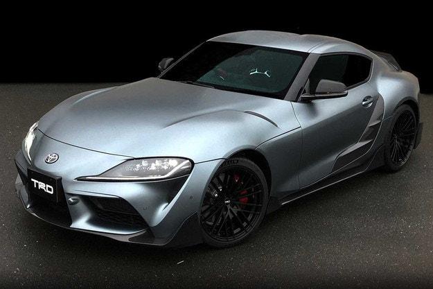 Toyota подготви първия заводски тунинг за Supra