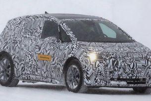 VW тества електрическия хечбек в зимни условия