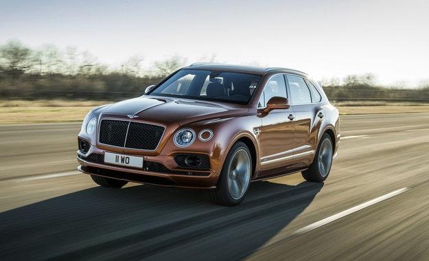 Обявиха Bentley Bentayga Speed за най-бързия в света
