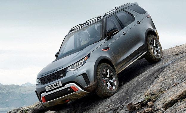 Land Rover сложи край на проекта Discovery SVX