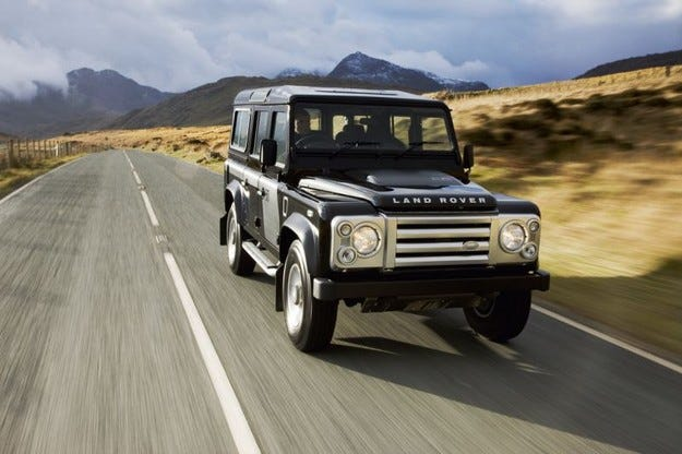 Land Rover Defender 110 SVX