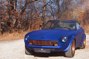 Datsun 280Z от Vilner Garage: от злато в кобалт