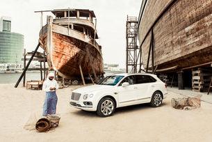 Bentley Bentayga Pearl of the Gulf от Mulliner