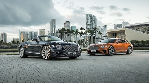 Bentley оборудва Continental GT с V8 двигател