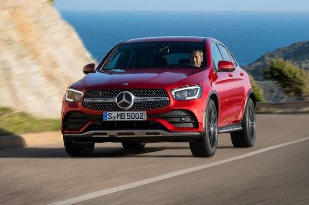 Mercedes-Benz разкри обновения GLC Coupe