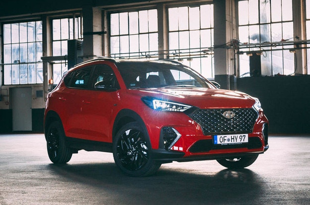 Hyundai представи спортния Tucson N Line