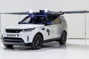 Land Rover направи от Discovery лаборатория