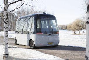 Роботизиран автобус с гуми Nokian Hakkapeliitta