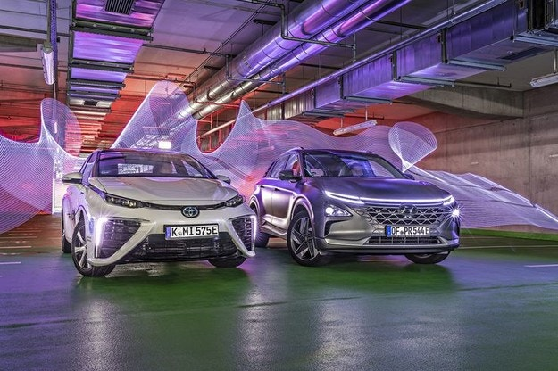 Hyundai Nexo срещу Toyota Mirai
