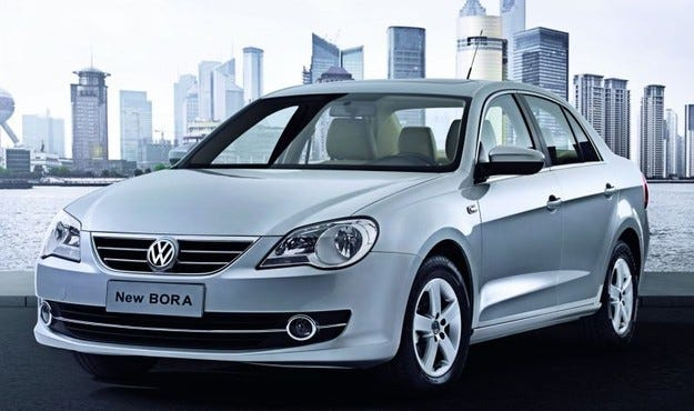 VW New Bora & Lavida