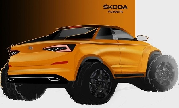 Skoda обяви пикап на базата на Kodiaq