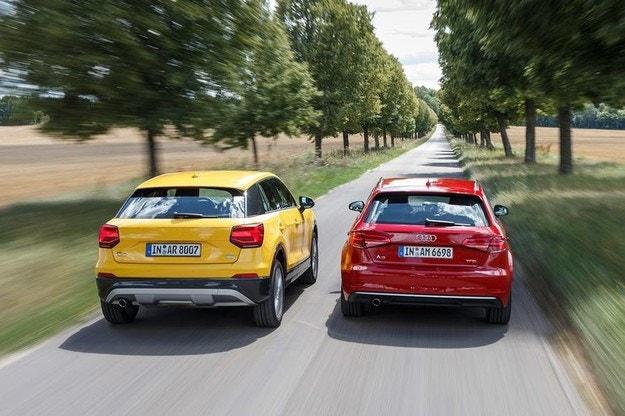Audi A3 Sportback, Q2
