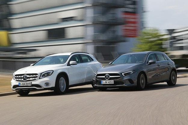 Mercedes A-класа или GLA