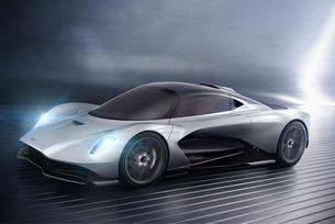 Разкриват Aston Martin AM-RB 003 постепенно