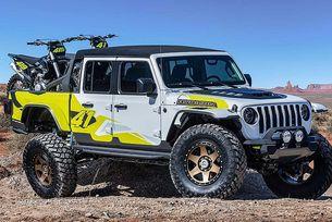 Jeep представи шест концепта на базата на Gladiator