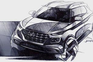 Hyundai показа дизайна на нов компактен кросоувър