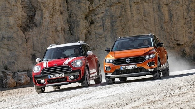MINI Countryman срещу VW T-Roc