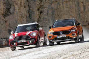MINI Countryman срещу VW T-Roc