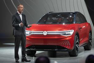 VW представя голям електрически кросоувър