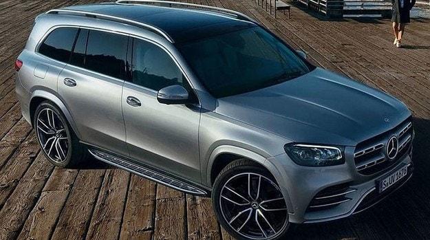 Разсекретиха новия Mercedes-Benz GLS