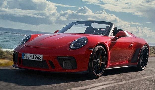 Новият Porsche 911 стана Speedster