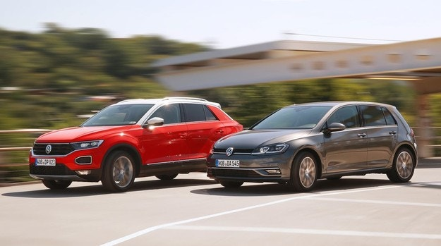 VW Golf, T-Roc