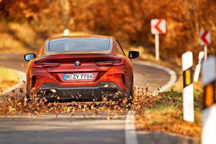 BMW M850i Coupe: Big boy