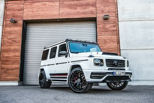 Lumma Design доработи Mercedes-AMG G63