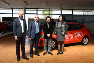 Мото-Пфое  и СБА представиха учебен автомобил