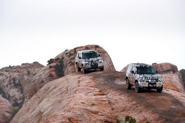 1,2 млн. км тестове за новия Land Rover Defender