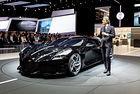 Кристиано Роналдо е поръчал Bugatti Black Car