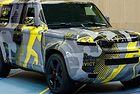 Новият Land Rover Defender вече без камуфлаж
