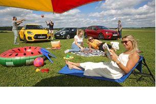 Mini Cooper, Seat Ibiza и Suzuki Swift: Спортисти от малкия клас