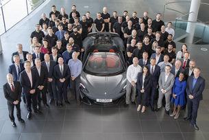 McLaren празнува 20 000 произведени автомобила