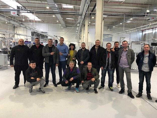 VOSS Automotive започна производството си в България