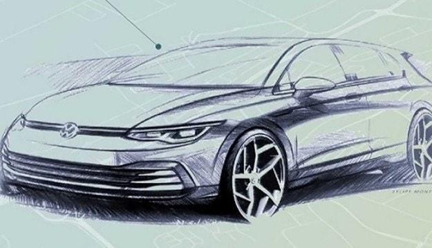Volkswagen разкри външния вид на новия Golf