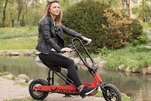 Narcine е сгъваем електрически скутер