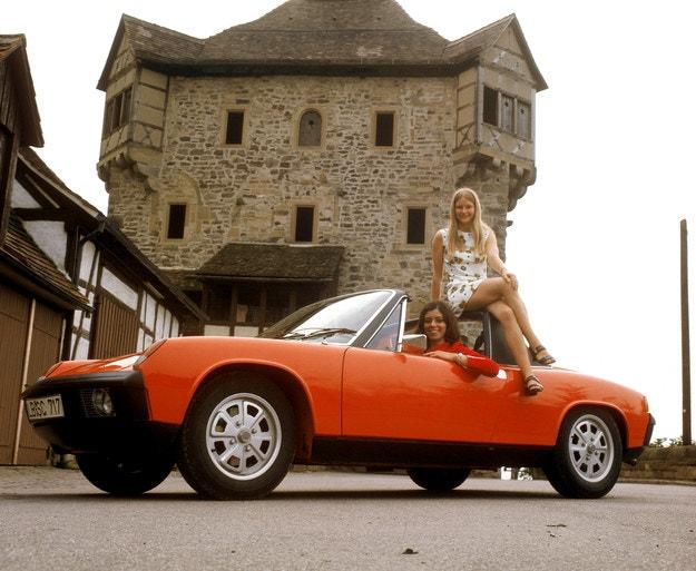 Porsche 914 чества 50 години в Porsche Museum