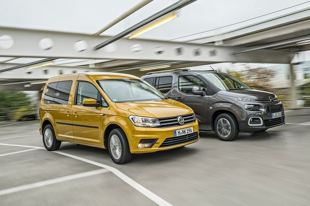 Citroën Berlingo срещу VW Caddy