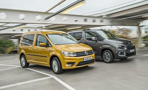 Citroën Berlingo срещу VW Caddy: Кой е по-практичният