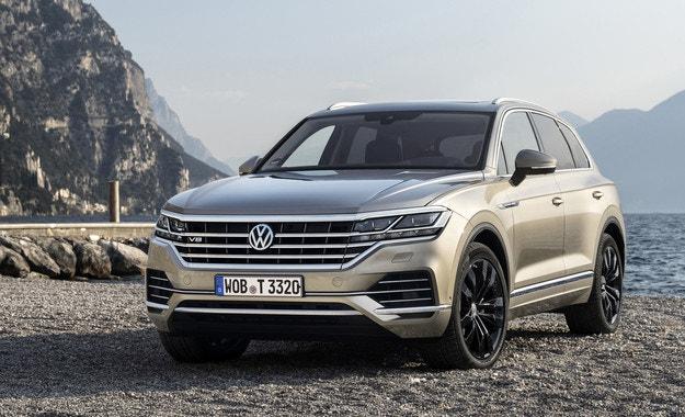 Приемат поръчки за Volkswagen Touareg V8 TDI