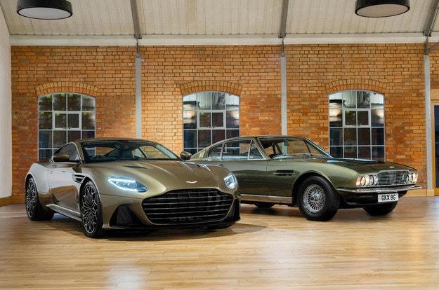 Представят спецверсия на Aston Martin DBS Superleggera